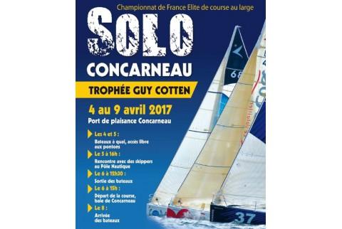 Kyss Marine vous fait vivre le départ de la Solo Concarneau Trophée Guy Cotten 2017