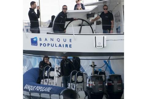 Mise à l'eau Banque Populaire IX_Vincent Curutchet / BPCE_Kyss Marine