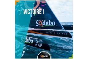 Victoire de Sodebo sur TJV 2017