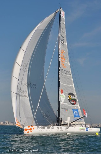 Vendee Globe Finistere Mer Vent Photo Bernard Gergaud