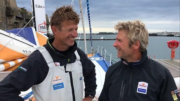 JP Dick Y Elies St Michel Virbac au Défi Azimut 2017 _ Kyss Marine