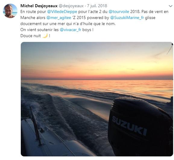 Z 2015 au large des cotes bretonnes
