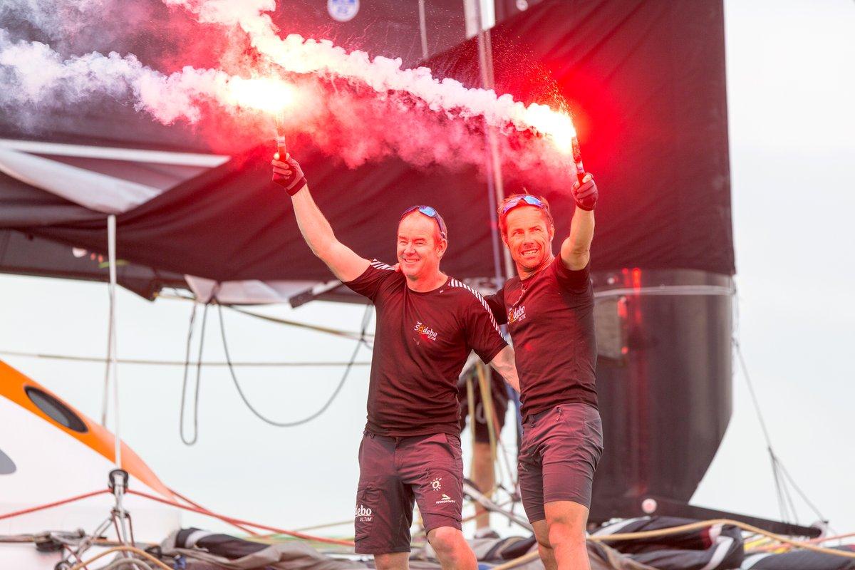 Coville et Nelias vainqueurs TJV 17 _ Kyss Marine