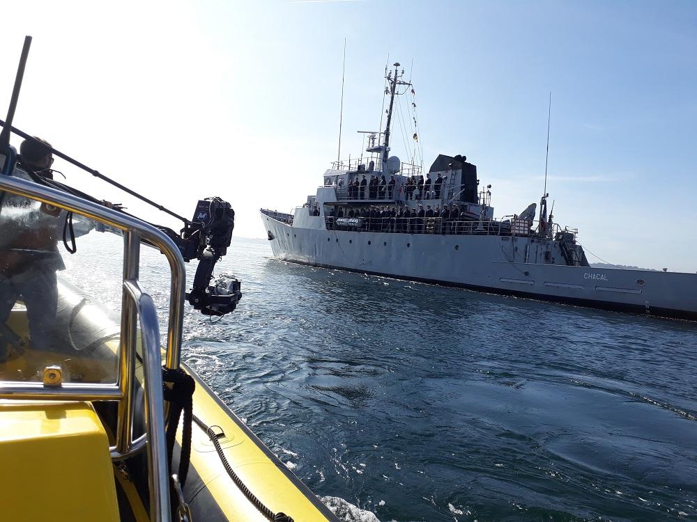 Bateau professionnel pour tournage de films en mer_Kyss Marine