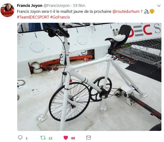 Franci Joyon Maillot jaune sur la prochaine Route du Rhum ?