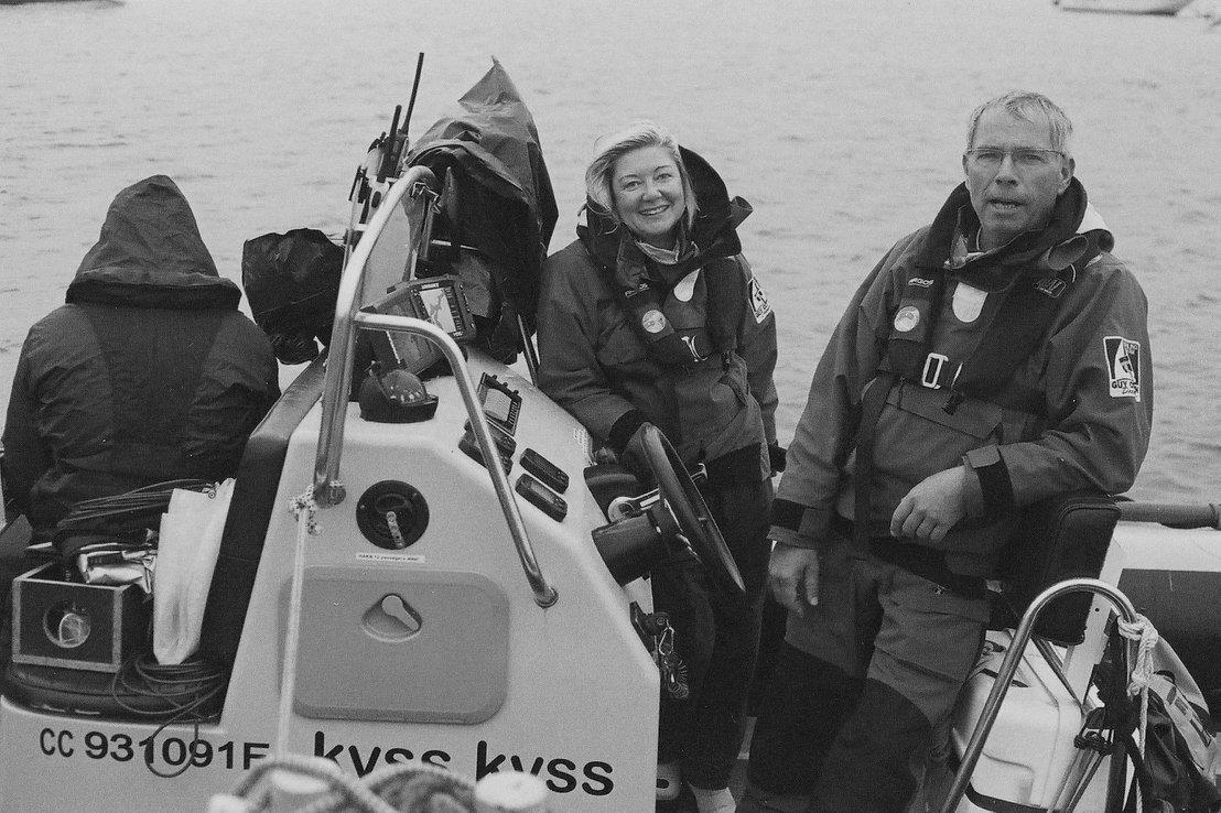 Marie-Pierre et Dominique Lemarchand KYSS Marine Concarneau