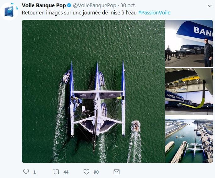 Mise a l'eau maxi tri banque Pop IX_Vincent Curutchet / BPCE